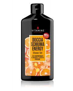 Гель для душа Апельсин и Имбирь Энергетический «Vitamine»,  на экстрактах из фруктовых соков 400мл.