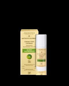 Антивозрастной дневной крем для лица с растительной гиалуроновой кислотой для всех типов кожи 50мл