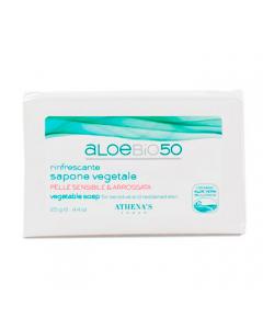 Растительное мыло на основе сока алоэ вера для чувствительной кожи 125г